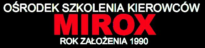 Mirox Ośrodek Szkolenia Kierowców Gliwice